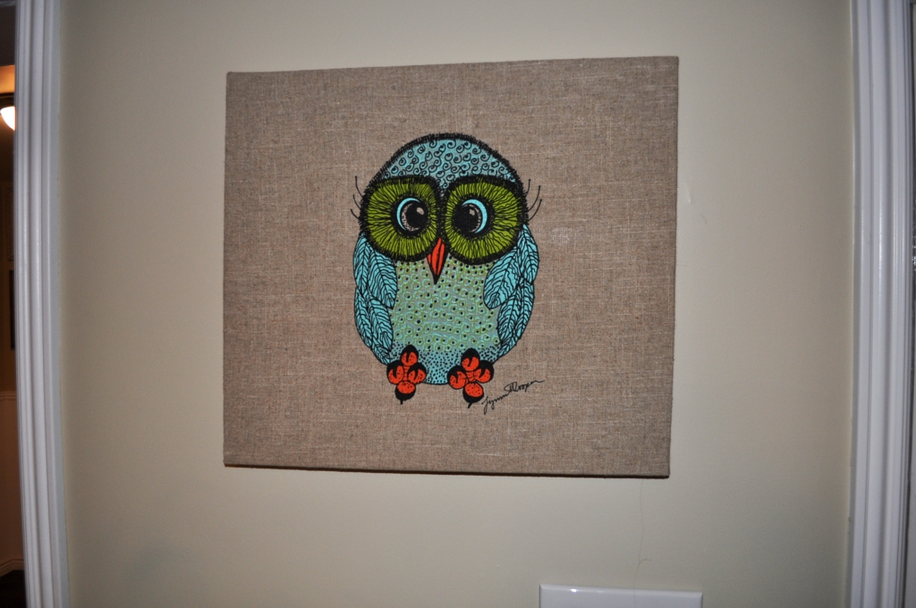 14 x 16 Owl Wall Hanging