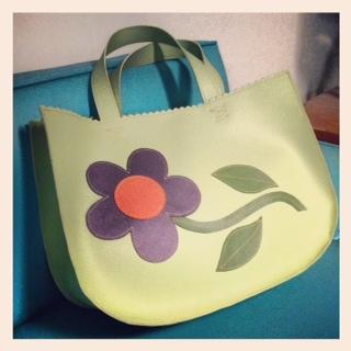 Vinylicious purse
