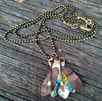 Linda-Hart-Vintage-Tin-Copper-Moth-necklace