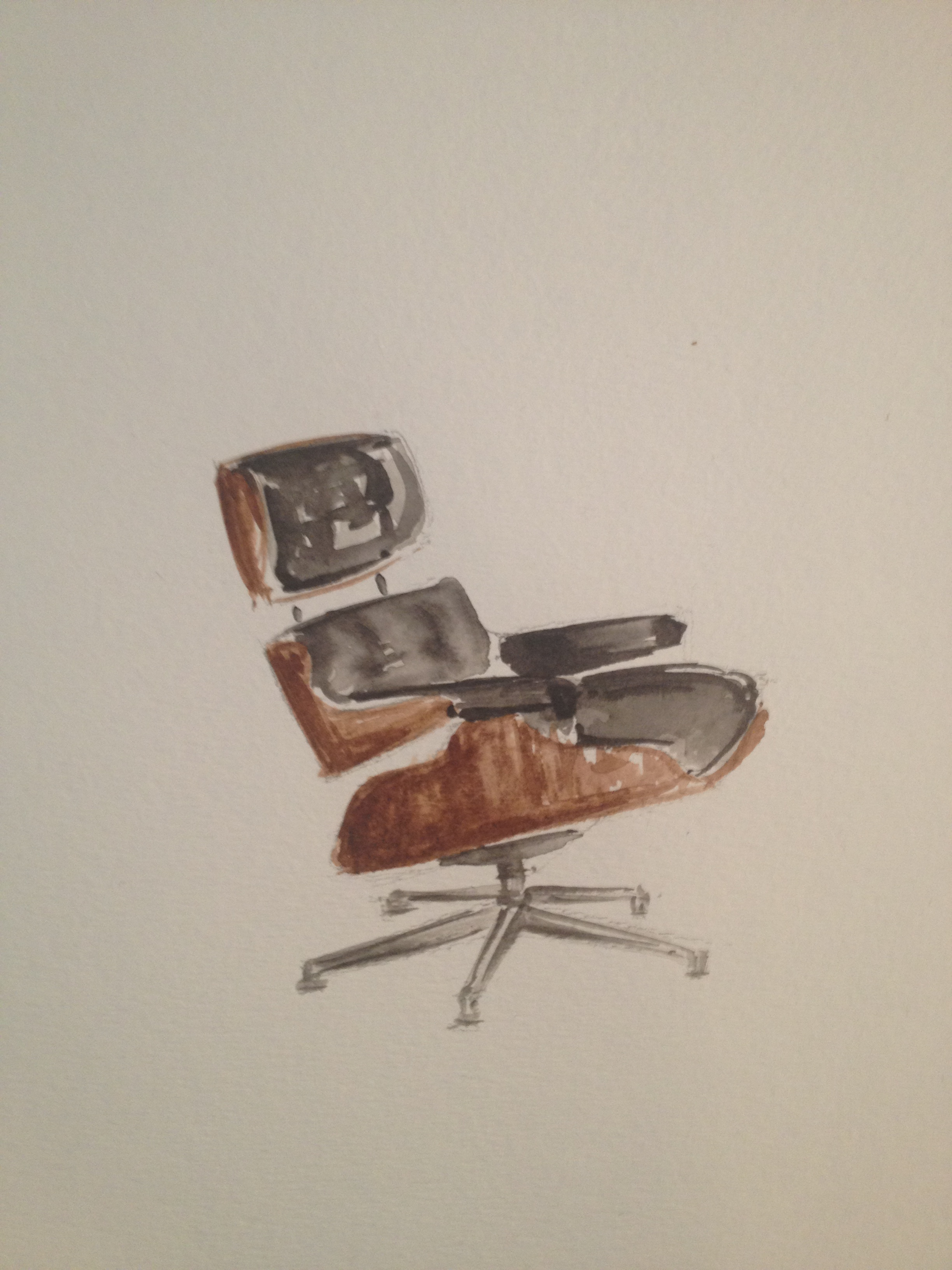 Eames Lounge, Suzanne Hall