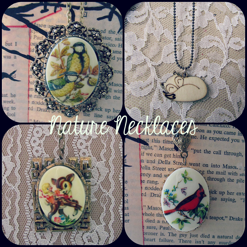 Nature Necklace Collection