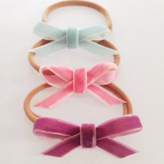 velvet bows