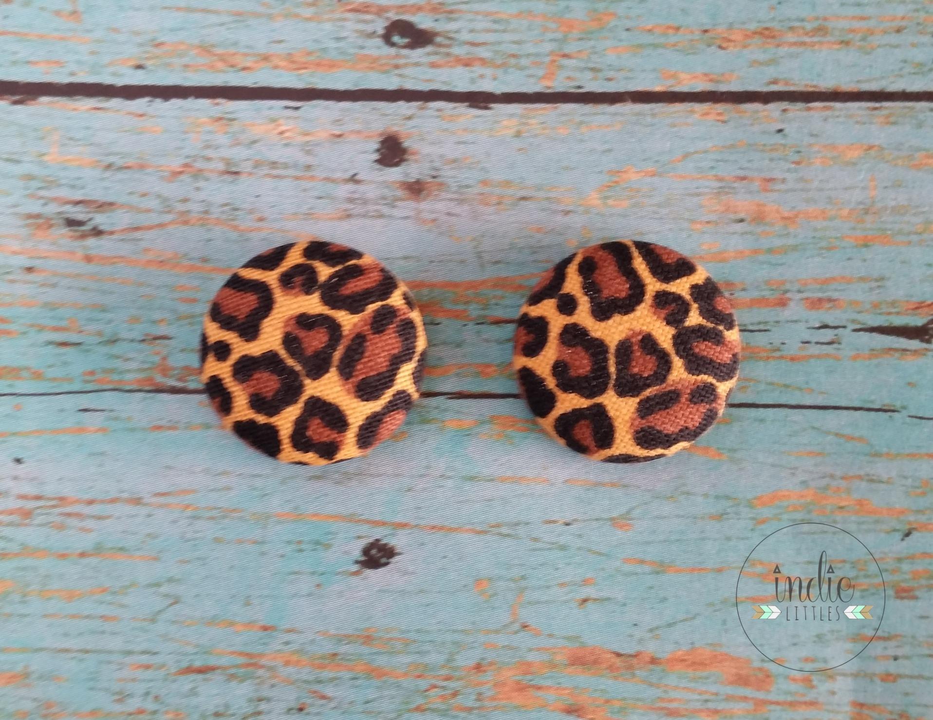 leopardearrings
