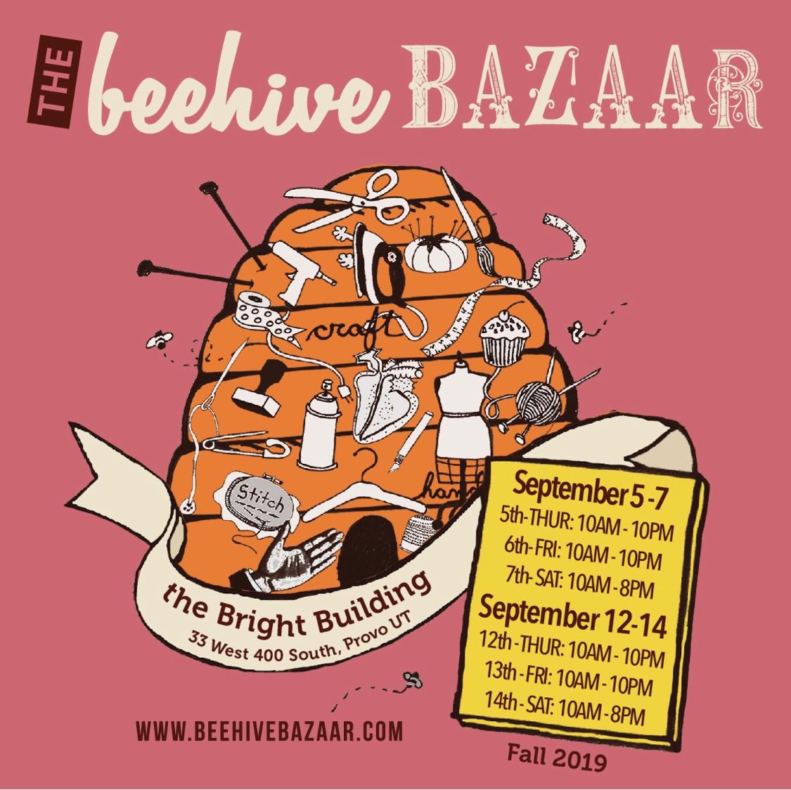 Fall 2019 Beehive Bazaar
