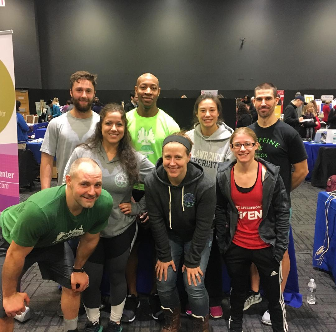 Team RIV Athletics raised more than $1,300 for the Green Beret Project, including $200 by having team members win the Medley Co-Ed F, F, M and Run, Row, Bike Women's Individual divisions.