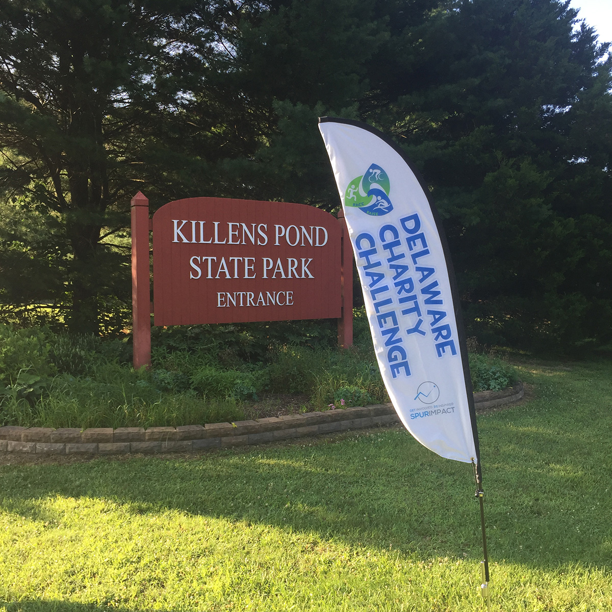 Participants in the 2nd Annual Race Across Killens Pond 5K could choose to raise money for different nonprofits they support. The top two fundraising teams combined to raise more than $1,000 for Combined Campaign for Justice and First State Animal Center and SPCA.