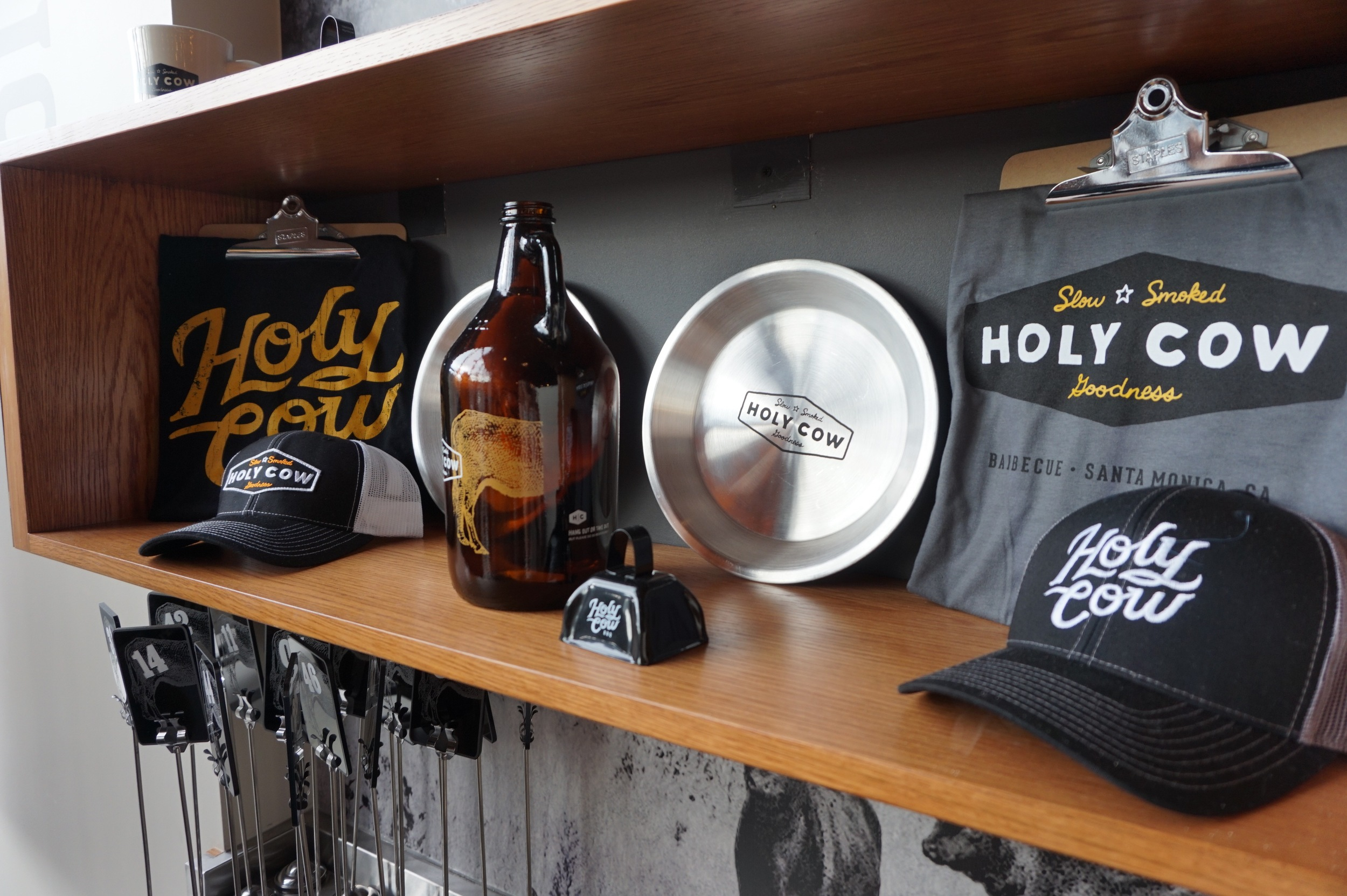Merchandise at Holy Cow