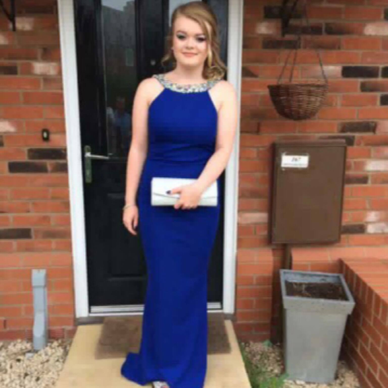 Thank you so much for the beautiful dress we bought from you for Liv's prom. She looked stunning! x