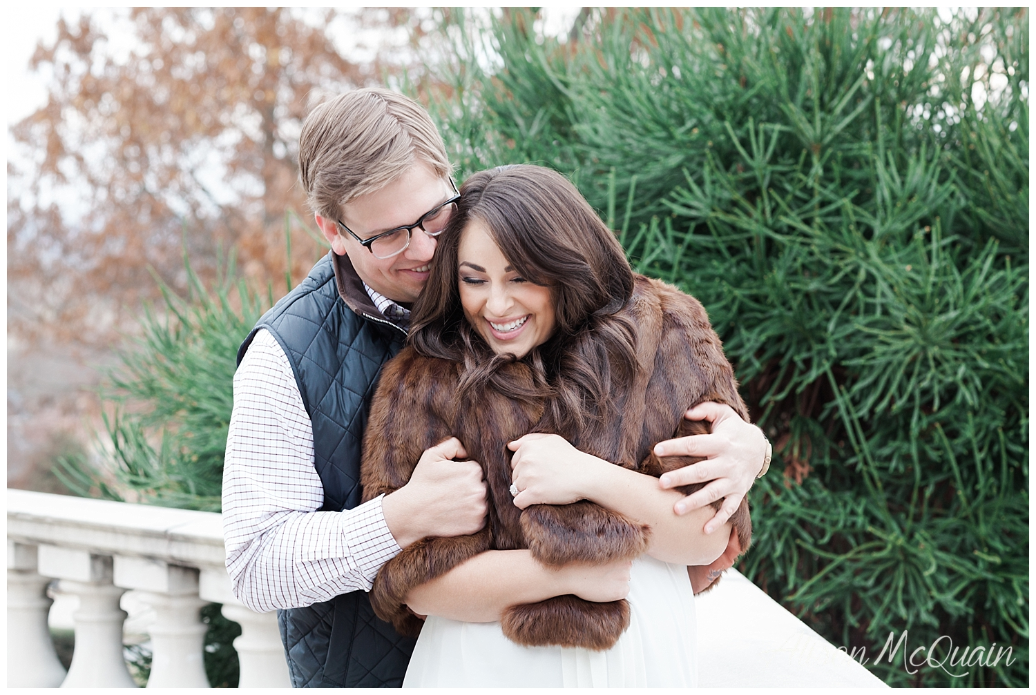 I brought my great-grandmother's furs along on this shoot...the cutest right?!