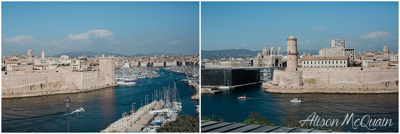 Hellloooo Marseille!! Super mod art muesume next to really ancient city walls...ok.