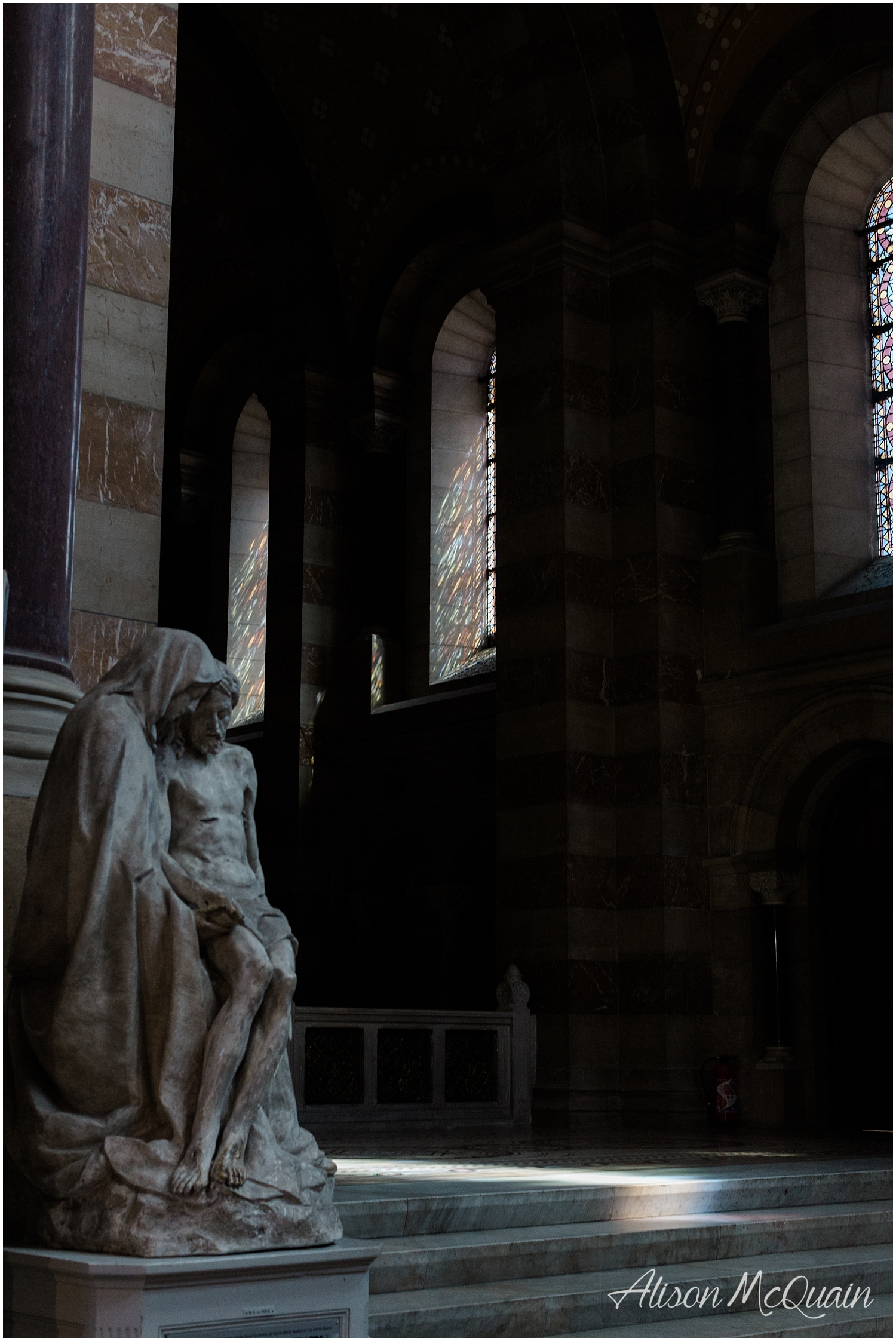 The light in old churches...not to mention the building and art within them...I can't.