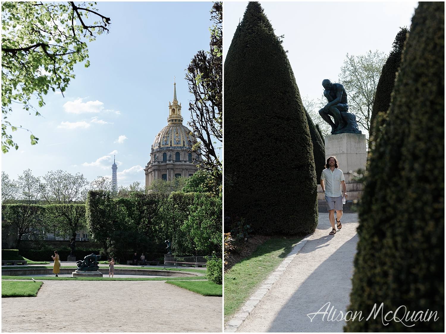 Loved the Rodin Garden just outside the museum.