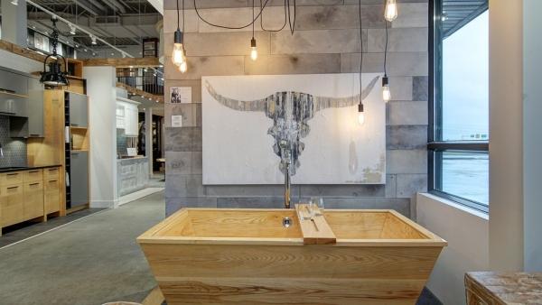 Salle de montre de salle de bain chez MACUCINA Laval
