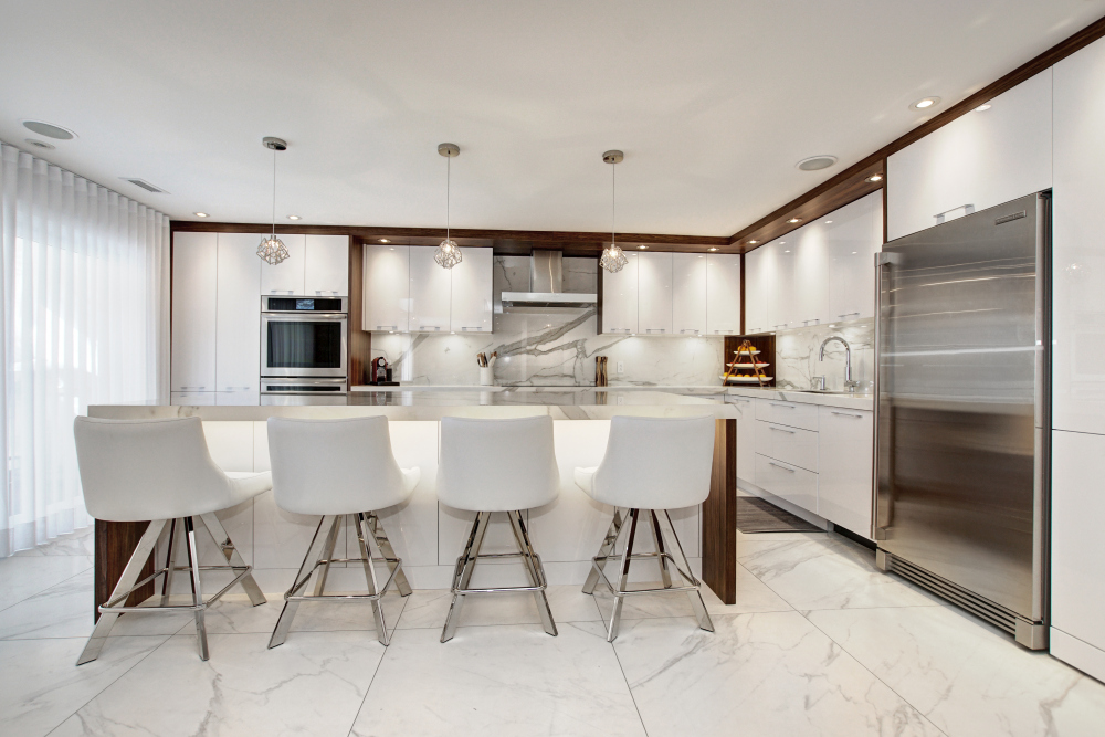 Cuisine contemporaine Laval 2019 - vue 1