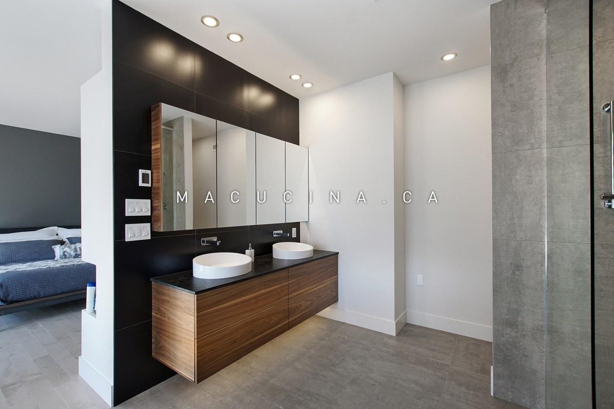 Salles de bain contemporaines Deux-Montagnes 2018 vue 3