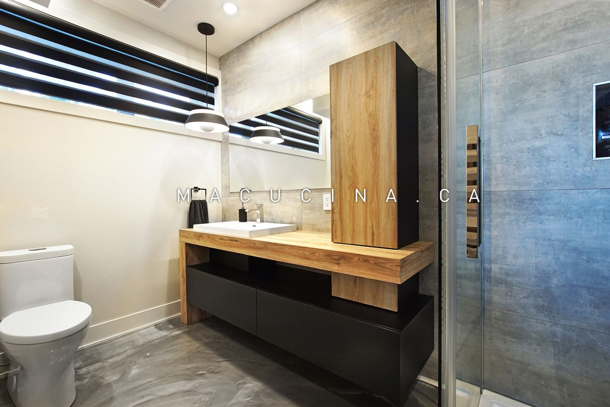 Salles de bain contemporaines Deux-Montagnes 2018 vue 4