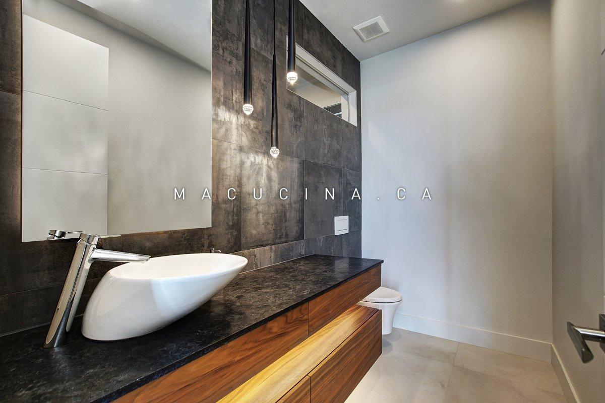 Salles de bain contemporaines Deux-Montagnes 2018 vue 5
