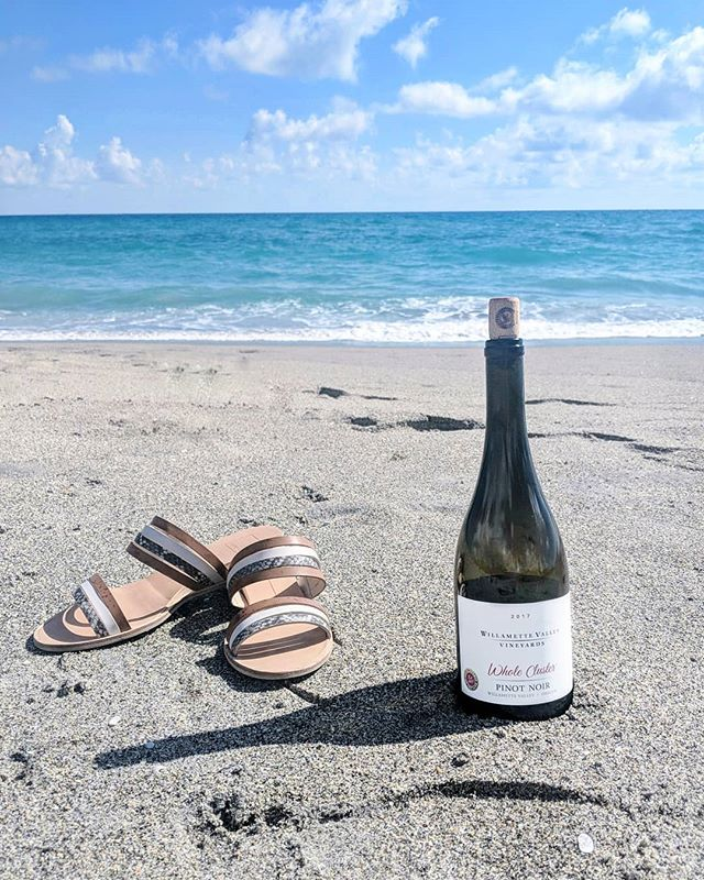 Monday Motivation 🌊 Find yourself a beach Pinot, kick off your shoes and enjoy!