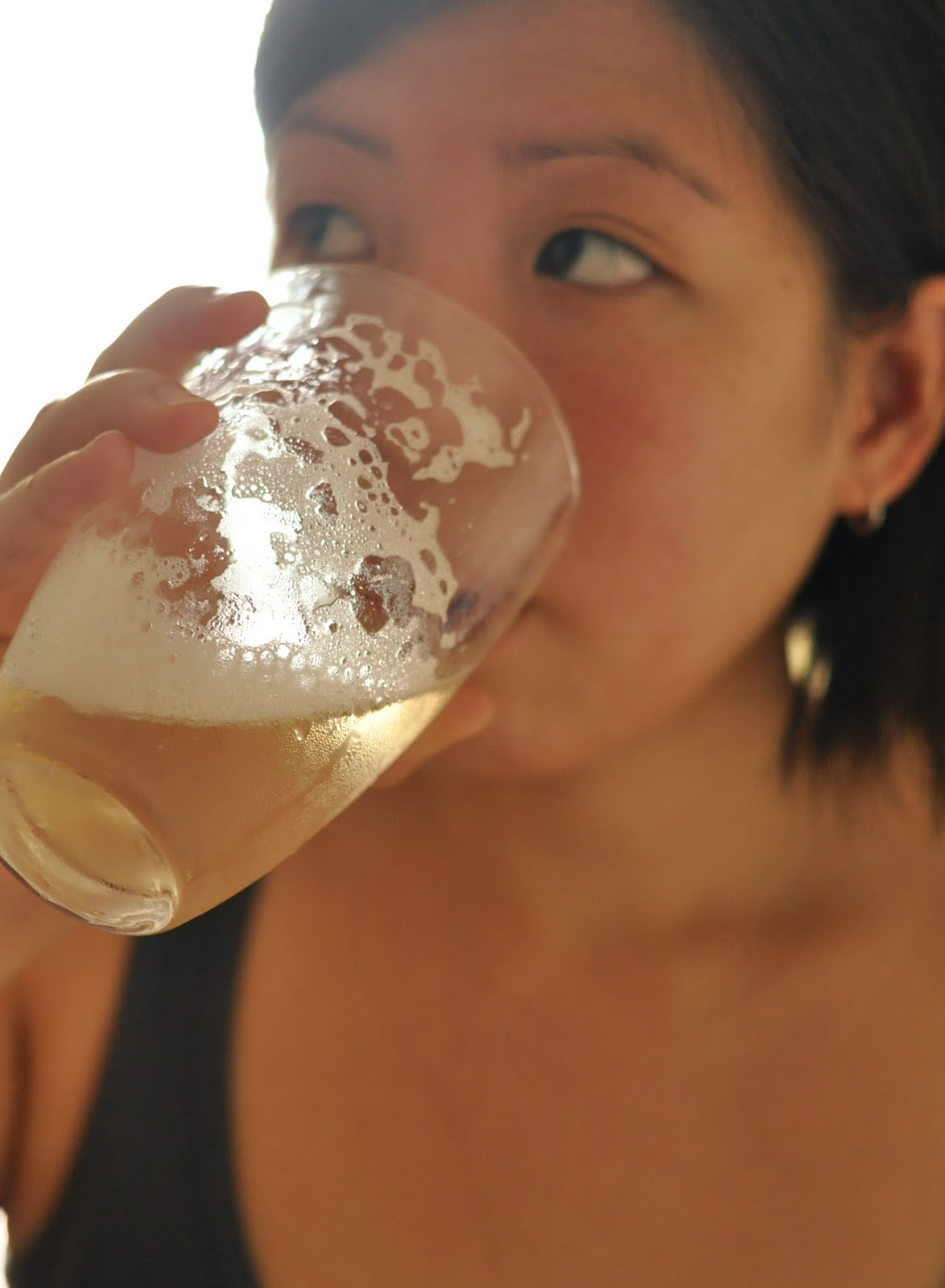 yet another thirst-quenching drink that my sister is enjoying!