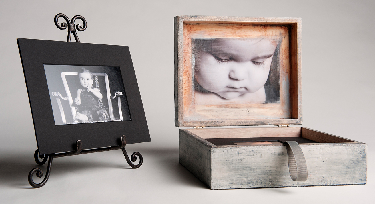 Brushed Portfolio Box