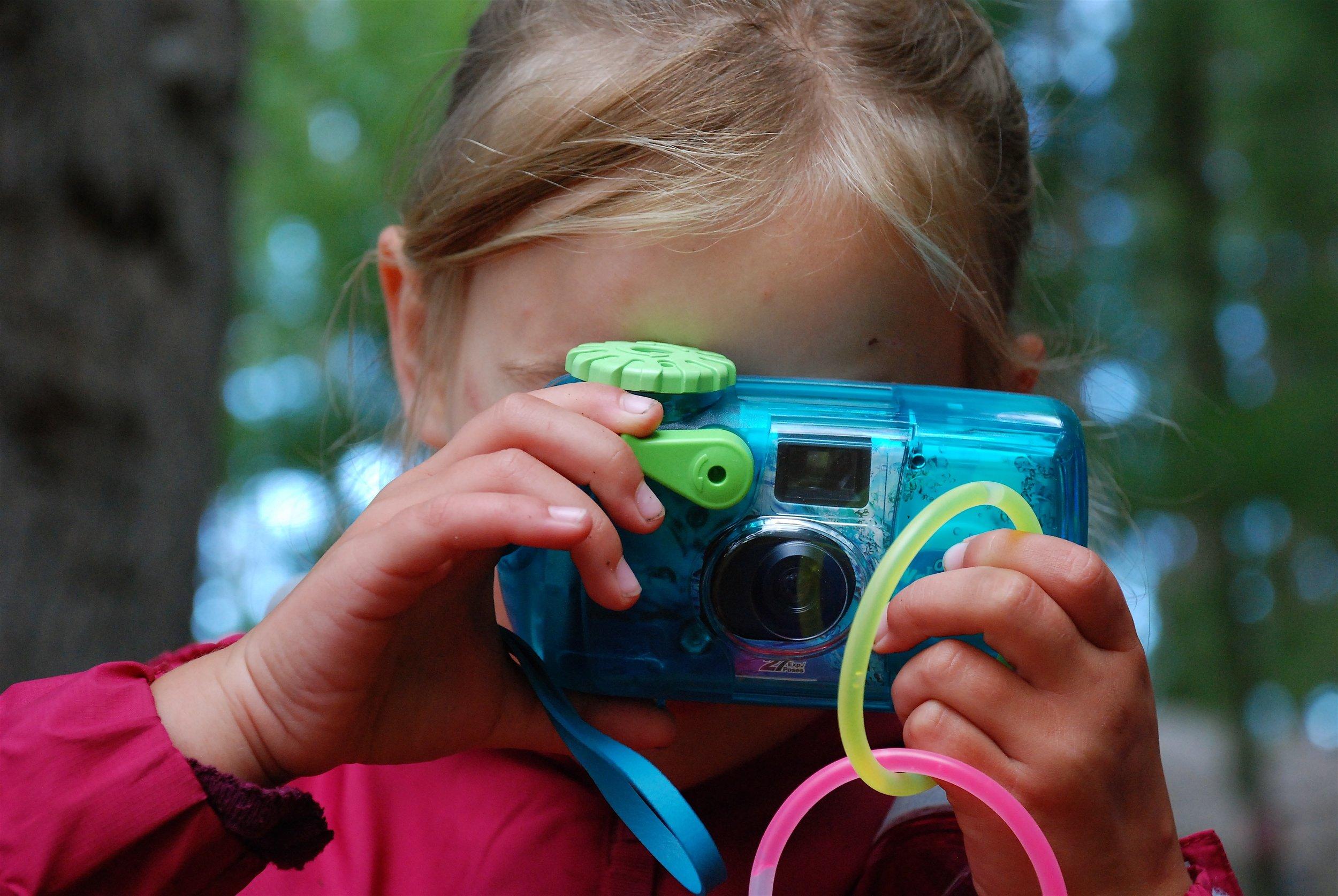 Disposable Waterproof Camera - circa 2008