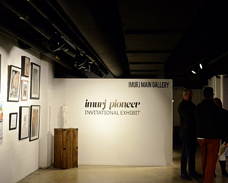 April 07, 2017×  5pm until Midnight  First Friday Reception: Imurj Pioneers Invitational    300 S. McDowell St. Raleigh, NC 27601     https://app.imurj.com/events         Join the community for an opening reception of the Imurj Main Gallery art exhibit and the Imurj Cafe Gallery.  First Fridays at Imurj offer interactive art making, live demonstrations, and performances.  Imurj Pioneers are our first local artists to become Imurj Premium Members.  Exhibitors in the Main Gallery:  Kevin Peddicord, Elizabeth Galecke, Dana Wood, Kevin Peddicord, Annette Shope, Stephen Cefalo, and Lou Horton.  Exhibitors in the Imurj Cafe Gallery:  Klara Doyle  This eclectic and diverse group of artists are exhibiting works of art that span a wide variety of arts media that includes painting, drawing, prints, photography, and sculpture. All ages are welcomed.