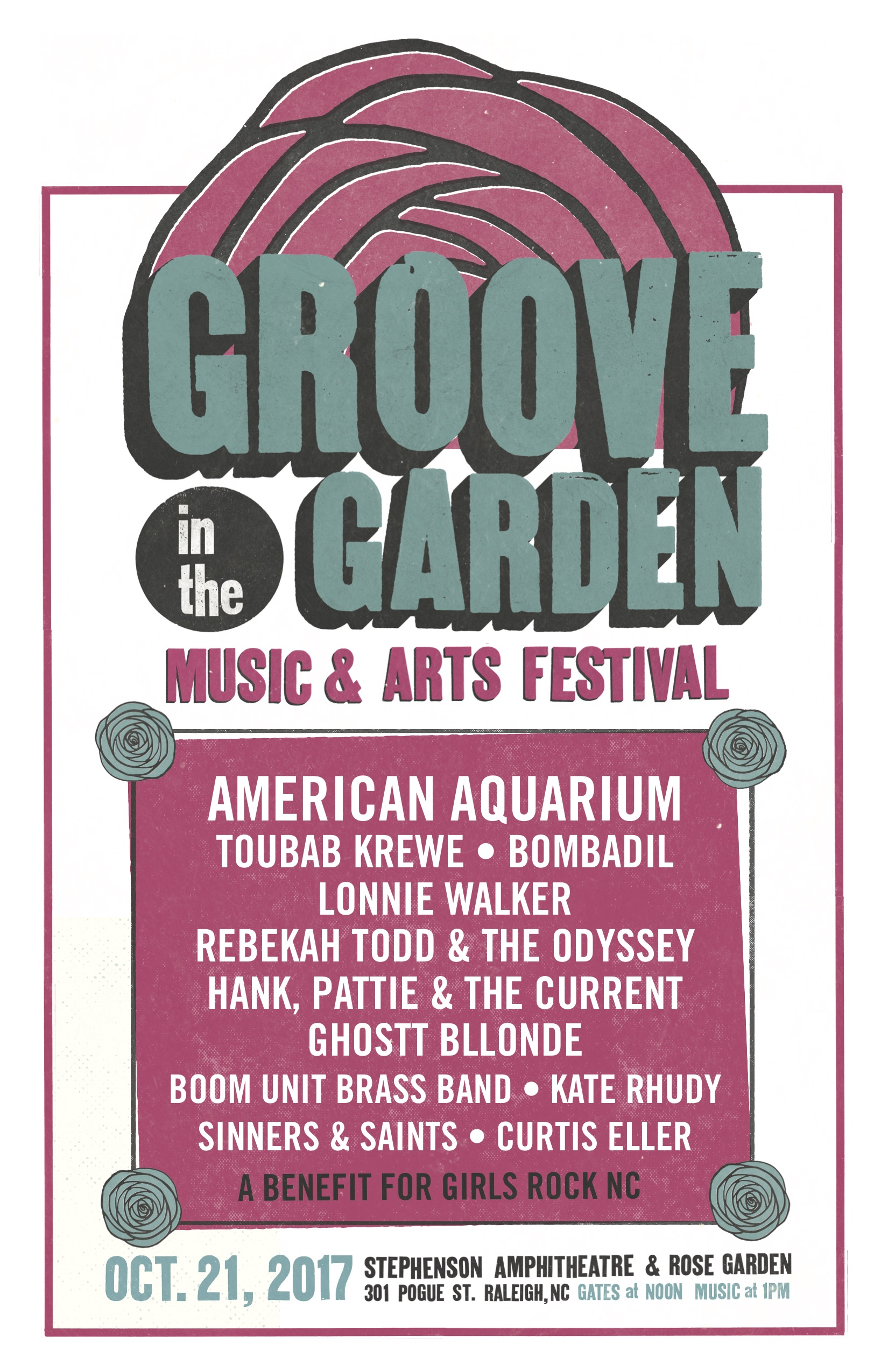 Groove in the Garden 2017 - Come out to the Raleigh Rose Garden and Ampitheater this Saturday Oct 21st 10am -6pm for Art and Food Trucks and Music(Music until 9pm!) I will have a booth with my #eyeswideopen photos printed on watercolor, notecards and portfolio of my portrait work. Come by and say hi!http://thepourhousemusichall.com/event/groove-in-the-garden-2/