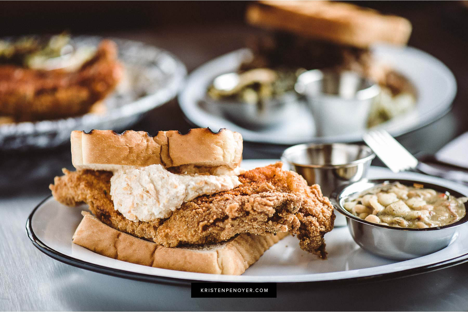 Food photography with Gilbert's Social in Jacksonville, Florida.