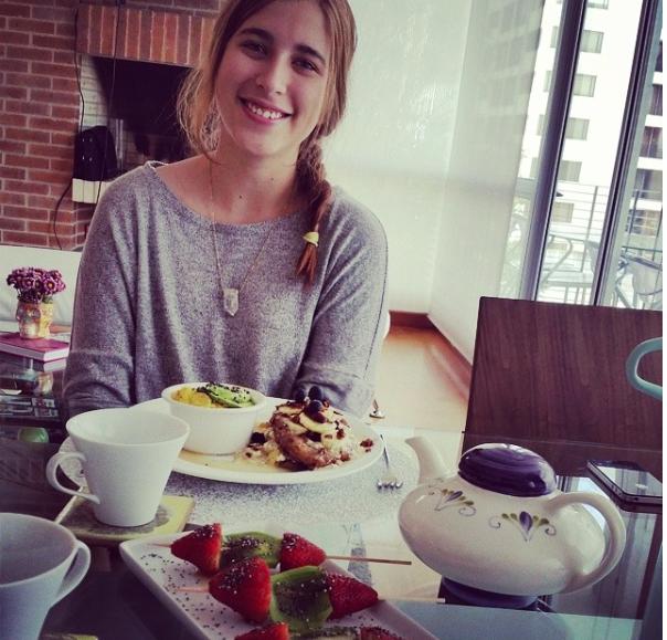 2014 Bogota cooking Brunch for my dear Natalia Swarz!