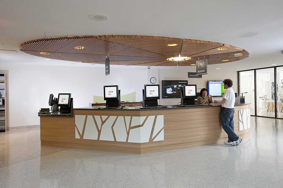 Gilroy library - Type: CommercialLocation: Santa Clara, CAStatus: Completed