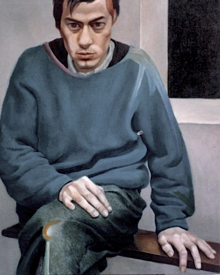 Portrait of Friend Sitting