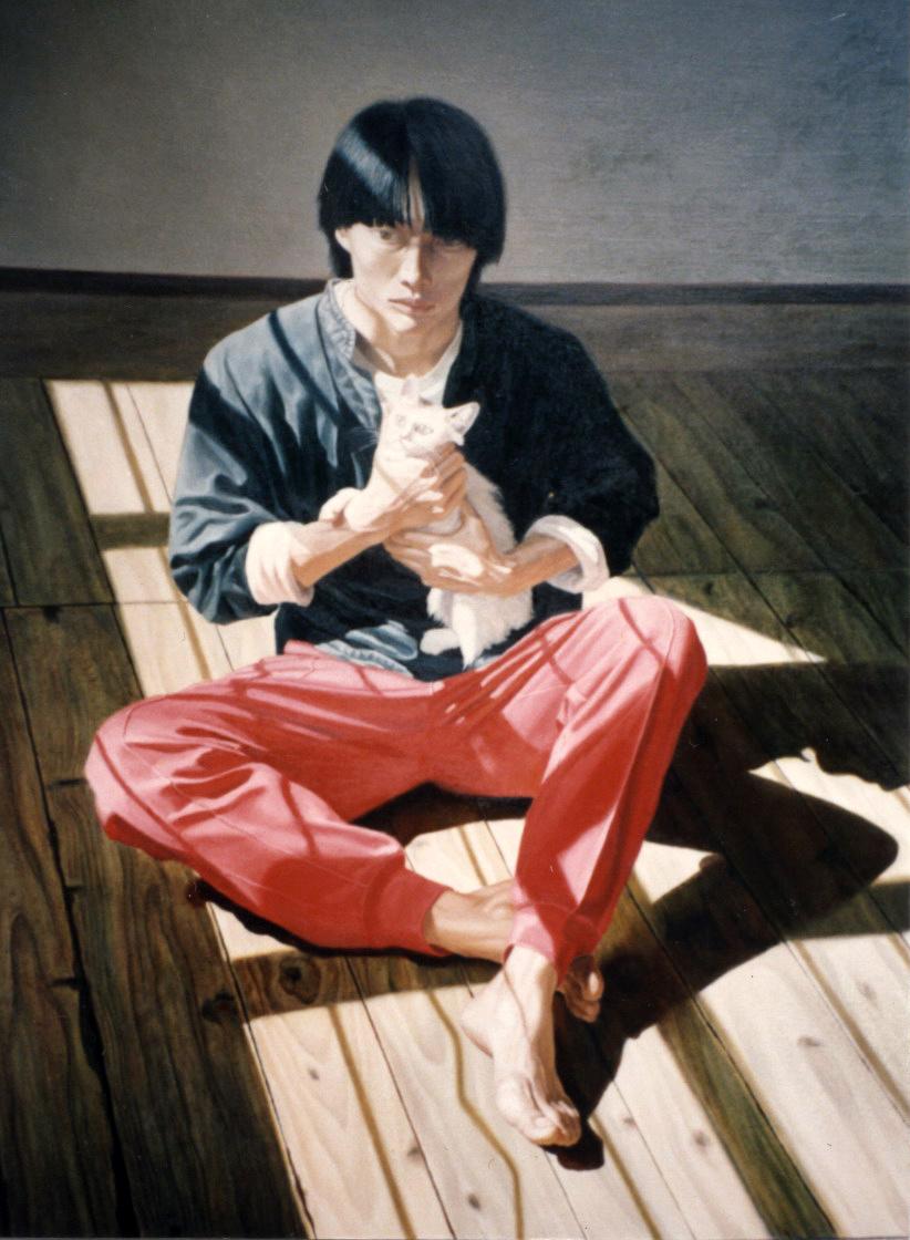 Self Portrait  (1993), Oil on Canvas