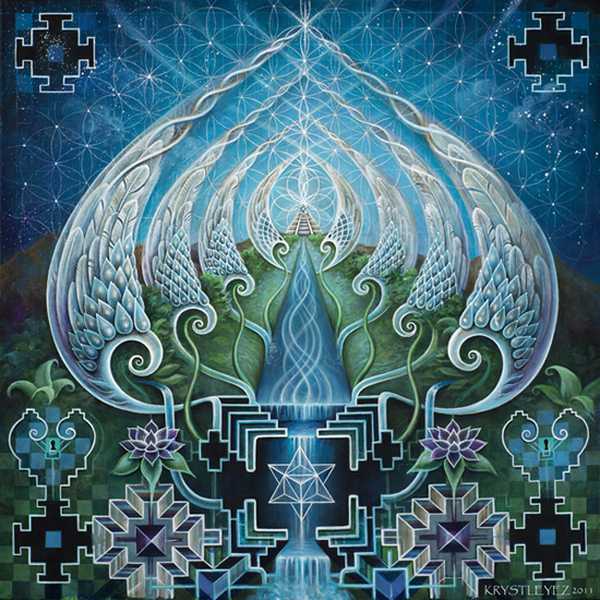 """Gateways of Consciousness"" by Krystleyez"