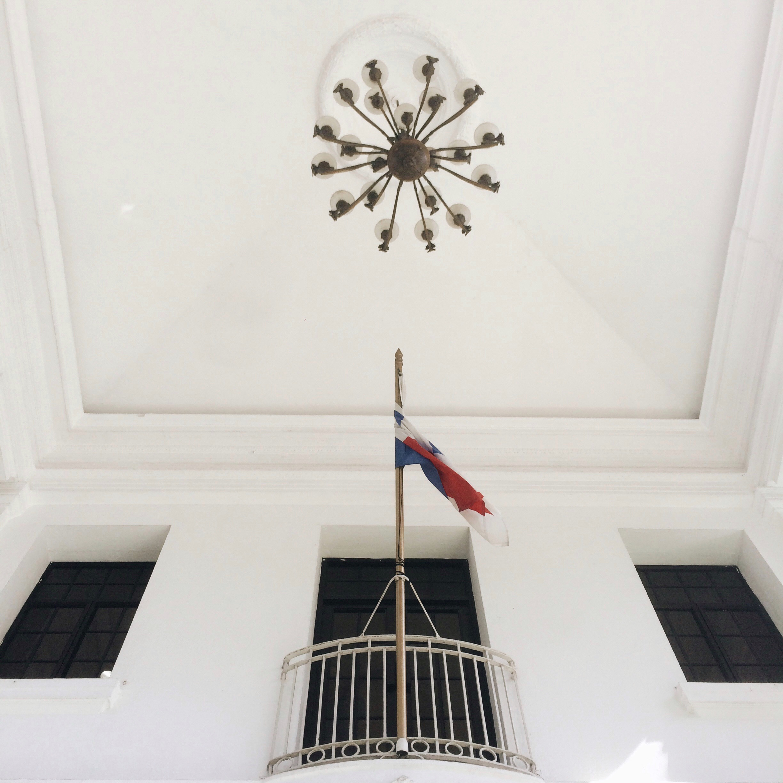 Un detalle del techo.