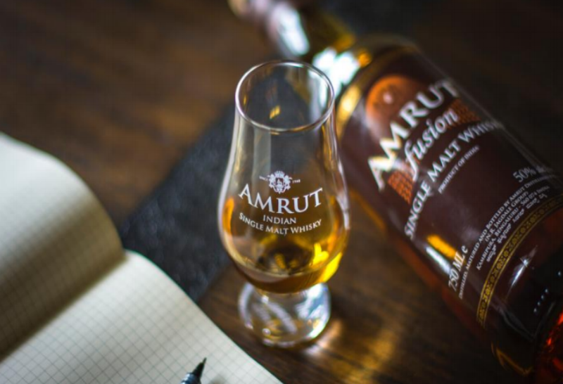 Amrut Fusion Single Malt is 46 percent alcohol by volume and distilled from imported Scottish barley as well as barley grown in the foothills of the Himalayas. Photo: Brett Ferencz