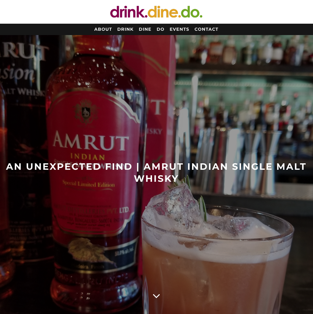 Chef Melissa Pelkey Hass discovers Amrut