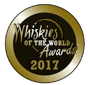 GOLD MEDAL + BEST IN CLASS    Whiskies of the World Awards 2015 & 2017