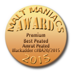BEST PEATED WHISKY PREMIUM CATEGORY  Malt Maniacs Awards
