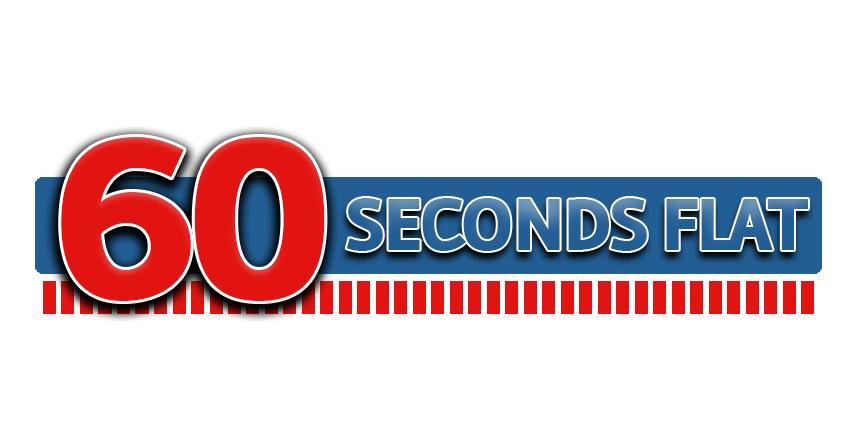 60 Seconds Flat Logo