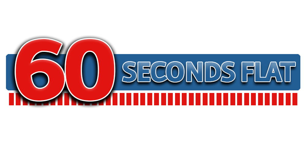 60 Seconds Flat - Logo