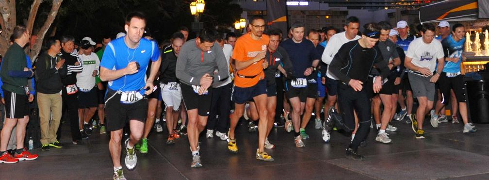 5K Run - Morning Run- LV Strip