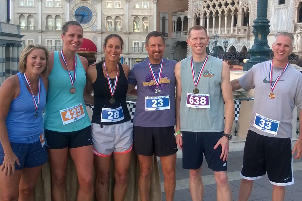5K Run - Winners