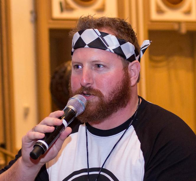 Donald Spalding - Director of Fun