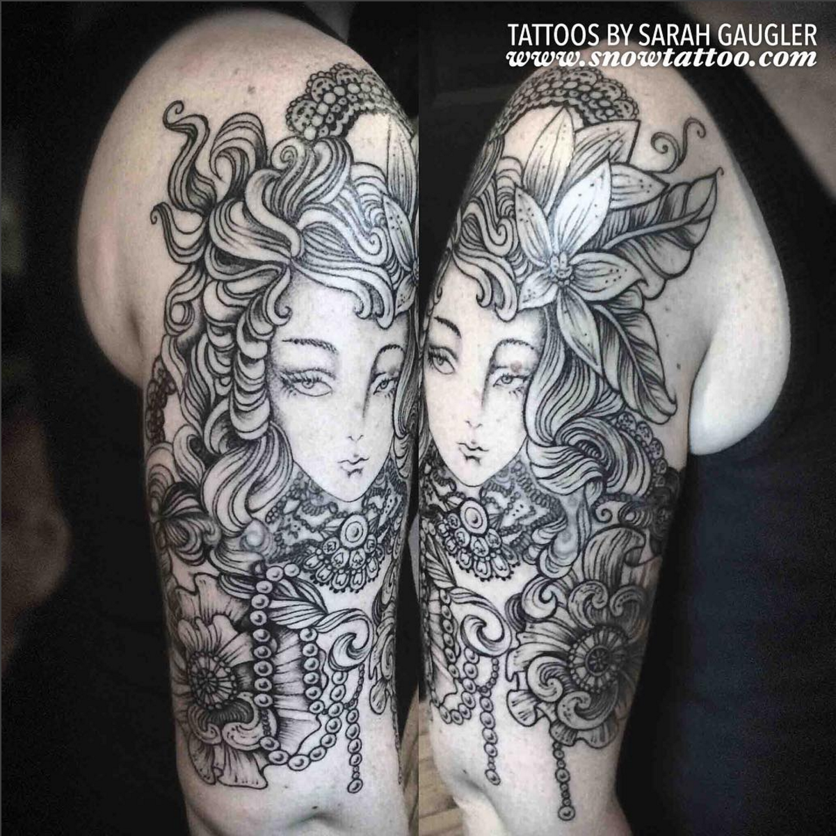 Cusotm+Victorian+Girl+Tattoo+Line+Art+Original+Flash+Tattoo+by+Sarah+Gaugler+at+Snow+Tattoo+New+York+NYC+NewYorkTimes.jpg