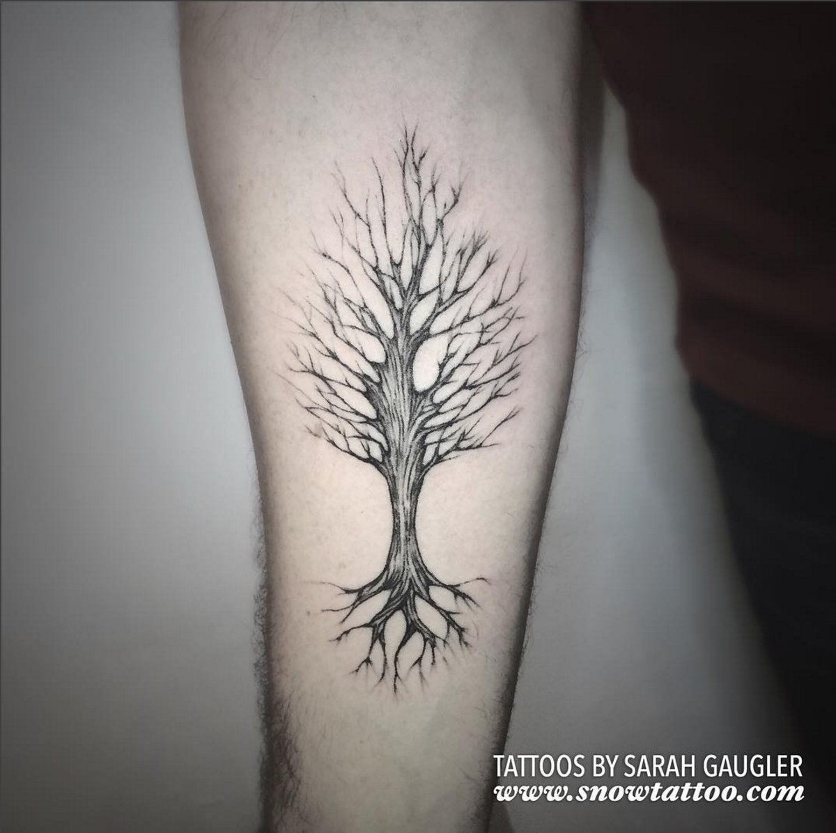 Cusotm+Tree+Tattoo+Line+Art+Original+Flash+Tattoo+by+Sarah+Gaugler+at+Snow+Tattoo+New+York+NYC.jpg
