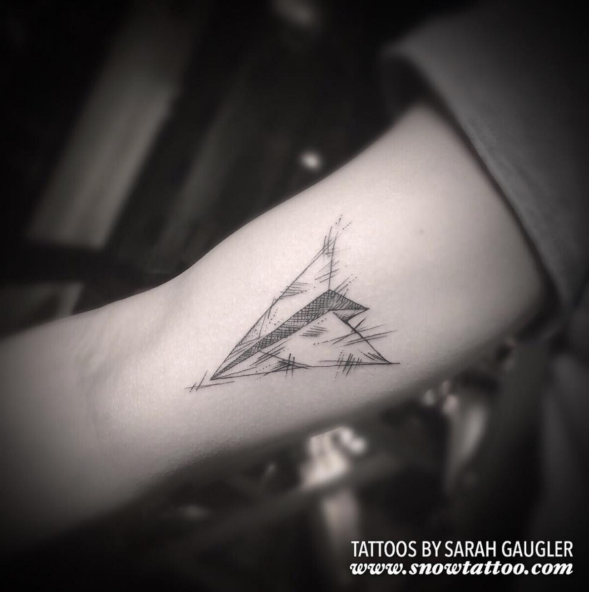 Sarah Gaugler Snow Tattoo Custom Paper Plane Detailed Intricate LineWork BlackWork Fine Line FineLinetattoo New York Best Tattoos Best Tattoo Artist NYC.png