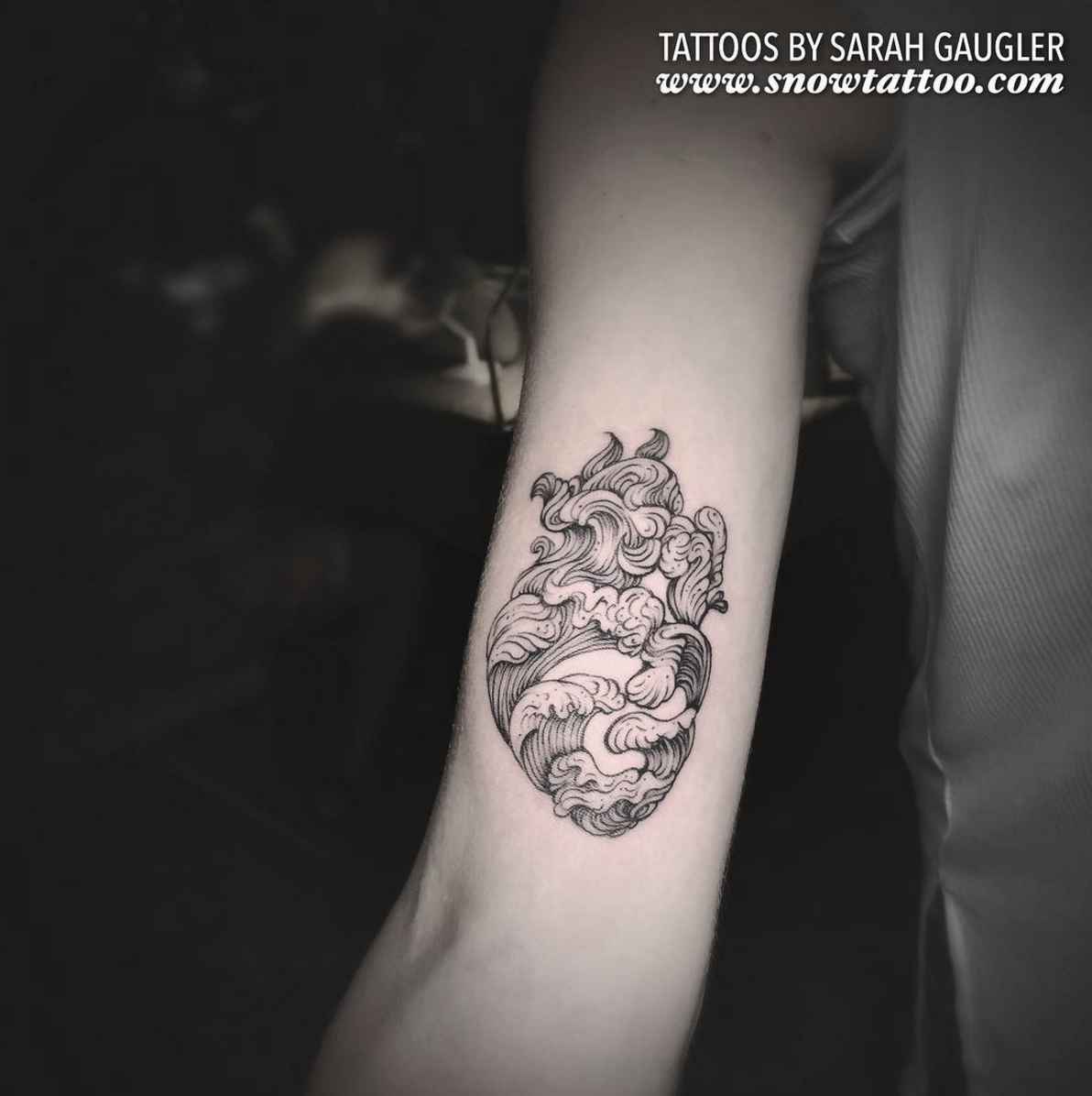 Sarah Gaugler Snow Tattoo Custom Heart Waves Intricate Detailed Original Linework Line Art Finelinetattoo Fine Line New York Best Tattoos Best Tattoo Artist NYC.png