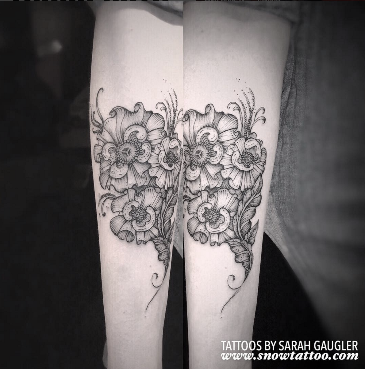 Sarah Gaugler Snow Tattoo Custom Floral Poppy Freehand Original Signature Design New York Best Tattoos Best Tattoo Artist NYC.png
