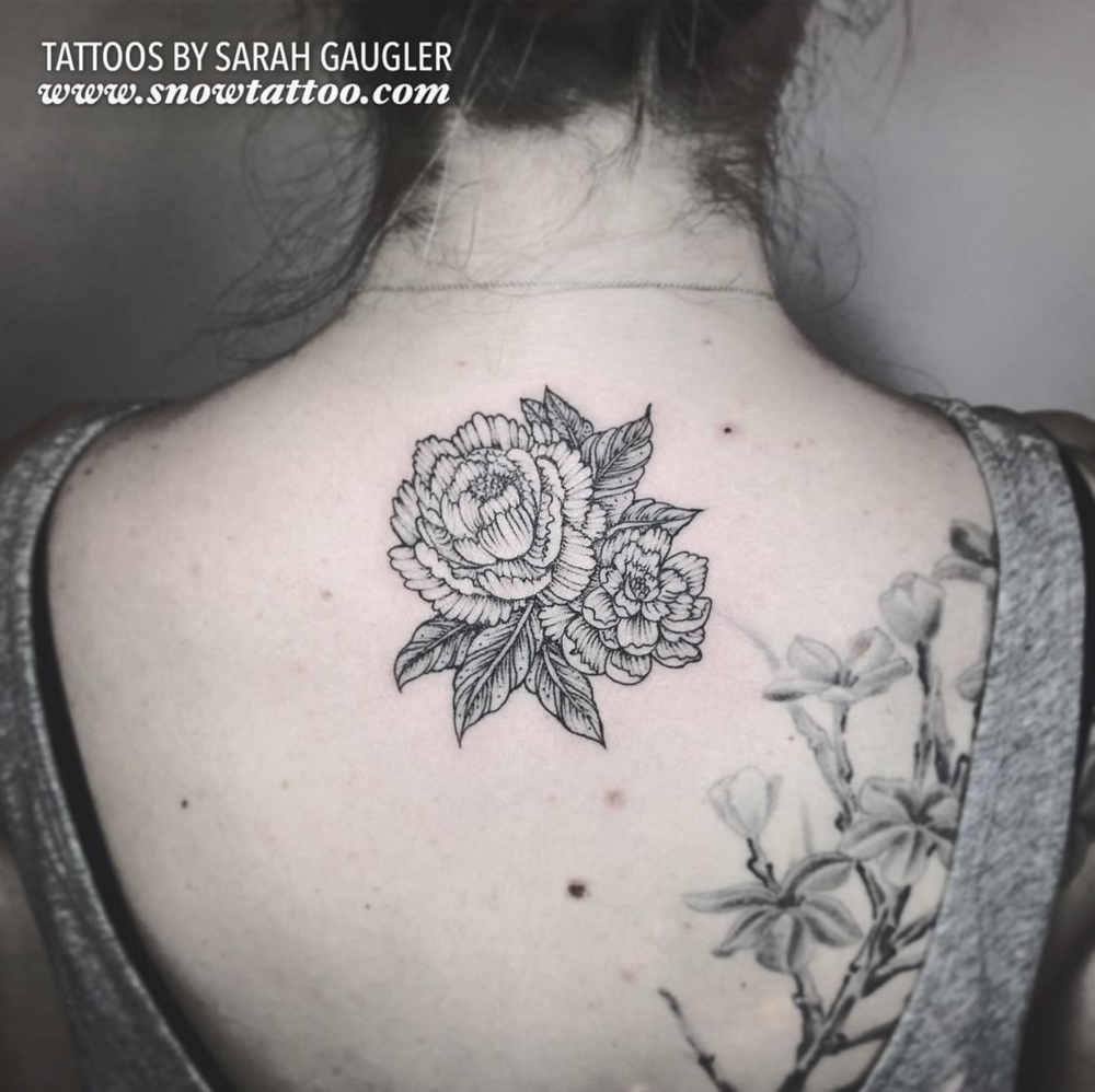 Cusotm+Floral+Peonies+Tattoo+Line+Art+Original+Flash+Tattoo+by+Sarah+Gaugler+at+Snow+Tattoo+New+York+NYC.png