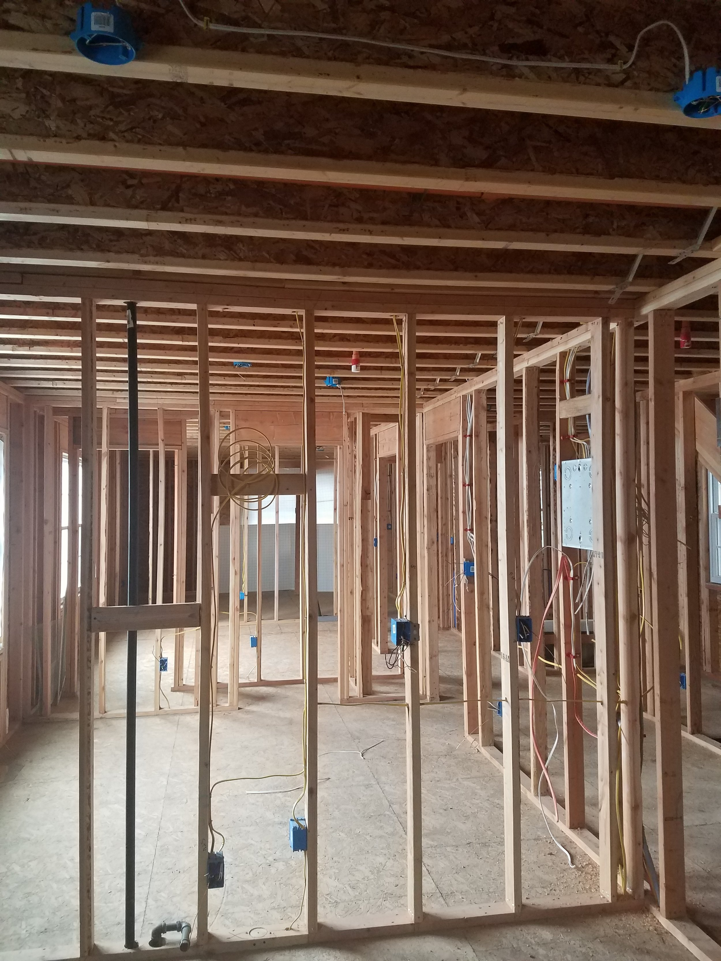 Interior Rough Framing